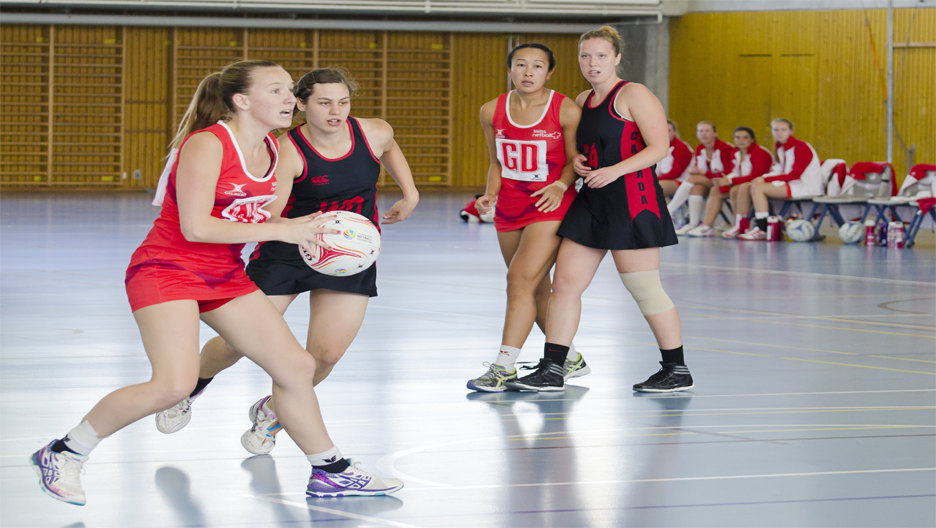 SWISS NETBALL HOST CANADA SERIES 2015